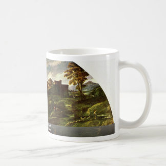 The Flight Into Egypt, By Carracci Annibale Classic White Coffee Mug