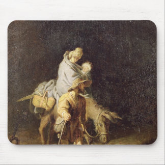 The Flight into Egypt Mouse Pad