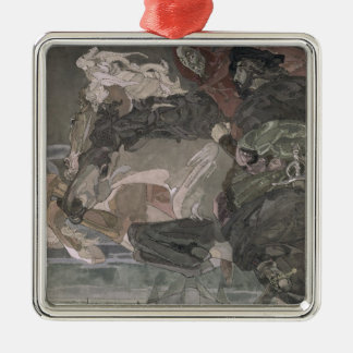 The Flight of Faust and Mephistopheles, 1896 Metal Ornament