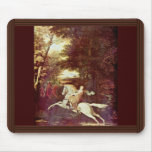 The Flight Of Florimell, Florimell Escape By Washi Mouse Pad