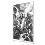 The Flight of Monmouth Canvas Print