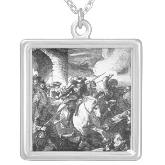 The Flight of Monmouth Silver Plated Necklace