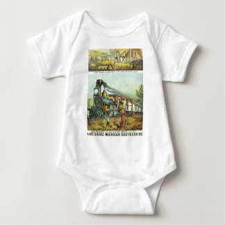The Flight of The Fast Mail Baby Bodysuit