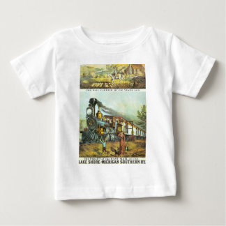 The Flight of The Fast Mail Baby T-Shirt