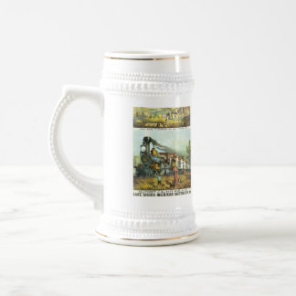 The Flight of The Fast Mail Beer Stein
