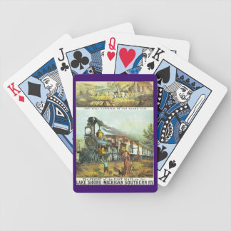 The Flight of The Fast Mail Bicycle Playing Cards