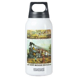The Flight of The Fast Mail Insulated Water Bottle