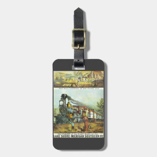 The Flight of The Fast Mail Luggage Tag