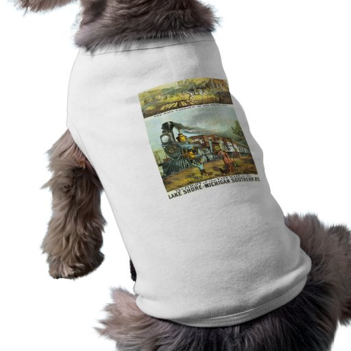 The Flight of The Fast Mail Pet Shirt