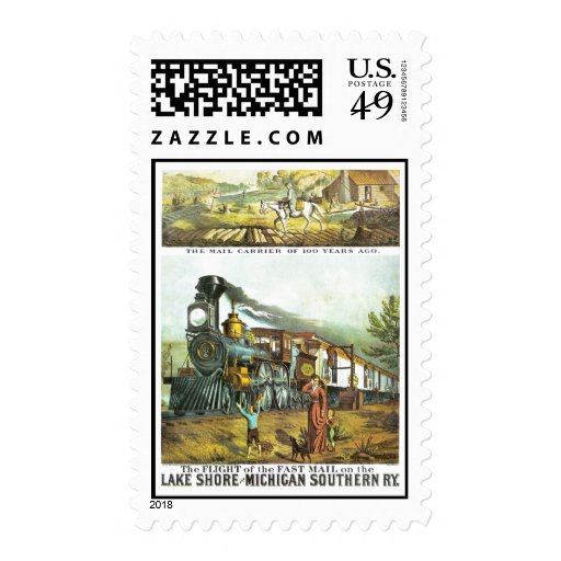 The Flight of The Fast Mail Stamp