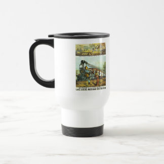 The Flight of The Fast Mail Travel Mug