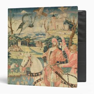 The Flight of the Heron Franco-Flemish Vinyl Binders