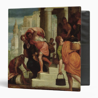 The Flight of the Israelites out of Egypt 3 Ring Binder