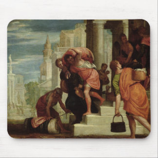 The Flight of the Israelites out of Egypt Mousepad