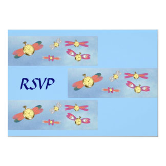 The Flight of Time, RSVP Card