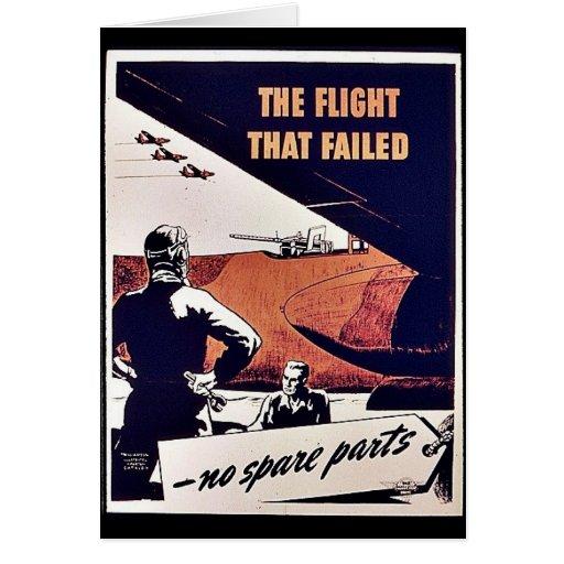 The Flight That Failed Card
