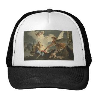 The Flight to Egypt by Giovanni Battista Tiepolo Mesh Hats