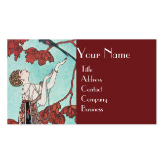 THE FLIGHTY BIRD ,BEAUTY FASHION DESIGNER Double-Sided STANDARD BUSINESS CARDS (Pack OF 100)