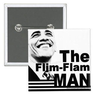The Flim Flam Man Button
