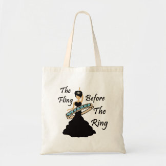 The Fling Before The Ring White Background Tote Bag