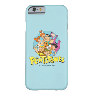 The Flintstones and Rubbles Family Graphic Barely There iPhone 6 Case