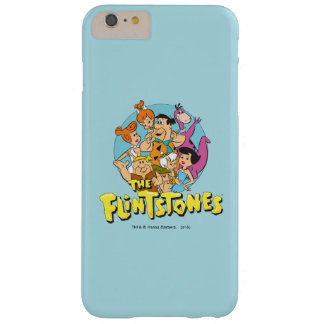 The Flintstones and Rubbles Family Graphic Barely There iPhone 6 Plus Case