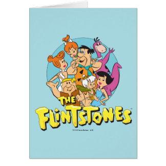 The Flintstones and Rubbles Family Graphic Card