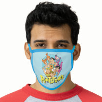 The Flintstones and Rubbles Family Graphic Face Mask