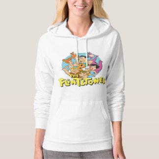 The Flintstones and Rubbles Family Graphic Hoodie