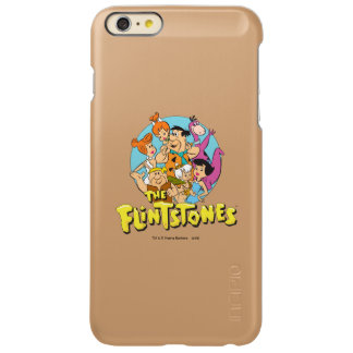 The Flintstones and Rubbles Family Graphic Incipio Feather Shine iPhone 6 Plus Case