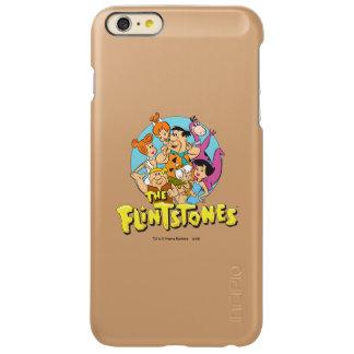The Flintstones and Rubbles Family Graphic Incipio Feather® Shine iPhone 6 Plus Case