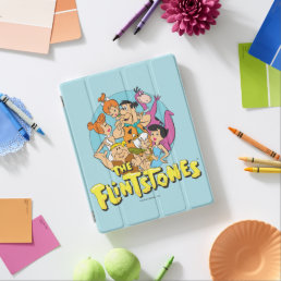 The Flintstones and Rubbles Family Graphic iPad Smart Cover