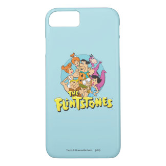 The Flintstones and Rubbles Family Graphic iPhone 7 Case