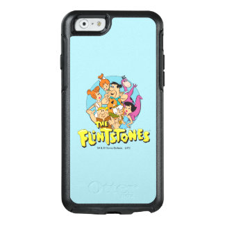 The Flintstones and Rubbles Family Graphic OtterBox iPhone 6/6s Case
