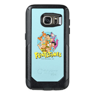 The Flintstones and Rubbles Family Graphic OtterBox Samsung Galaxy S7 Case