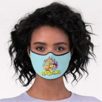 The Flintstones and Rubbles Family Graphic Premium Face Mask