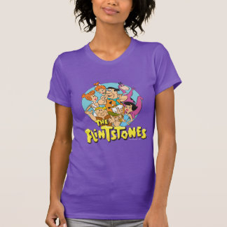The Flintstones and Rubbles Family Graphic T-Shirt