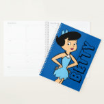 "The Flintstones | Betty Rubble Planner<br><div class=""desc"">Check out Betty Rubble smiling with her hands on hips.</div>"