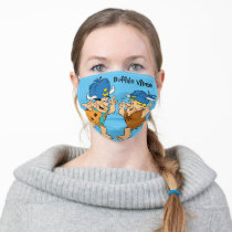 The Flintstones | Fred & Barney Water Buffaloes Adult Cloth Face Mask