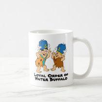 The Flintstones | Fred & Barney Water Buffaloes Coffee Mug