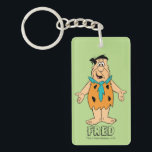 "The Flintstones | Fred Flintstone Keychain<br><div class=""desc"">Check out Fred Flintstone smiling with arms open.</div>"