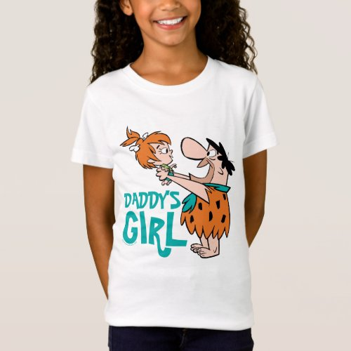 The Flintstones  Fred  Pebbles _ Daddys Girl T_Shirt