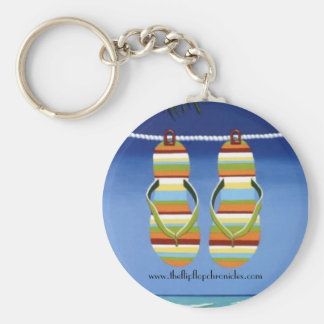The Flip Flop Chronicles Keychain