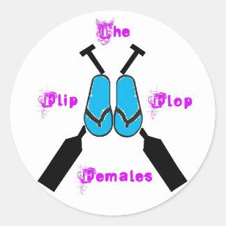 The Flip Flop Females Sticker