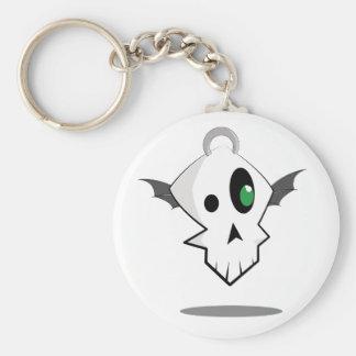 The Floatie Skull Keychain