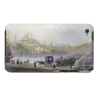 The Floating Bridge, Istanbul, engraved by J.C. Be Barely There iPod Cover