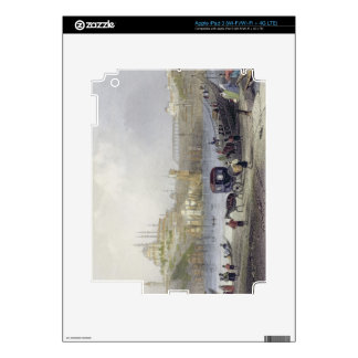 The Floating Bridge, Istanbul, engraved by J.C. Be Decals For iPad 3