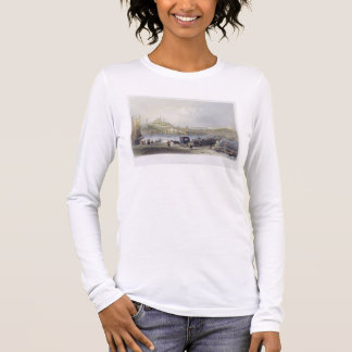 The Floating Bridge, Istanbul, engraved by J.C. Be Long Sleeve T-Shirt