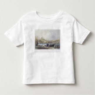 The Floating Bridge, Istanbul, engraved by J.C. Be Toddler T-shirt
