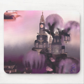 The Floating City Mouse Pad